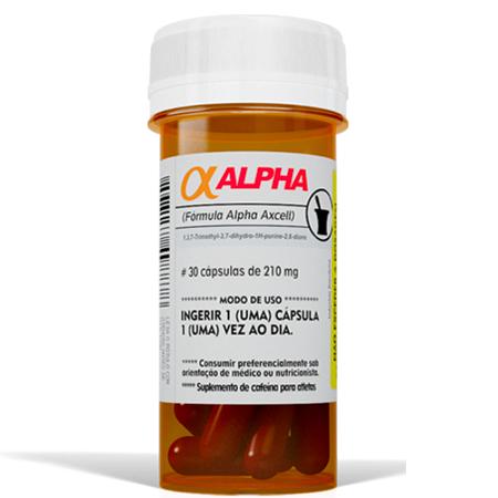 Cafeina Alpha Axcell 30 Cápsulas