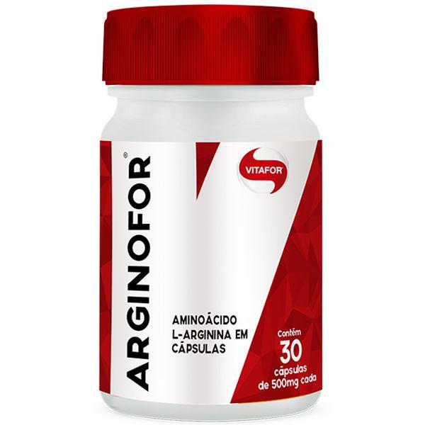 Arginofor Arginina 500mg 60 Capsulas Vitafor