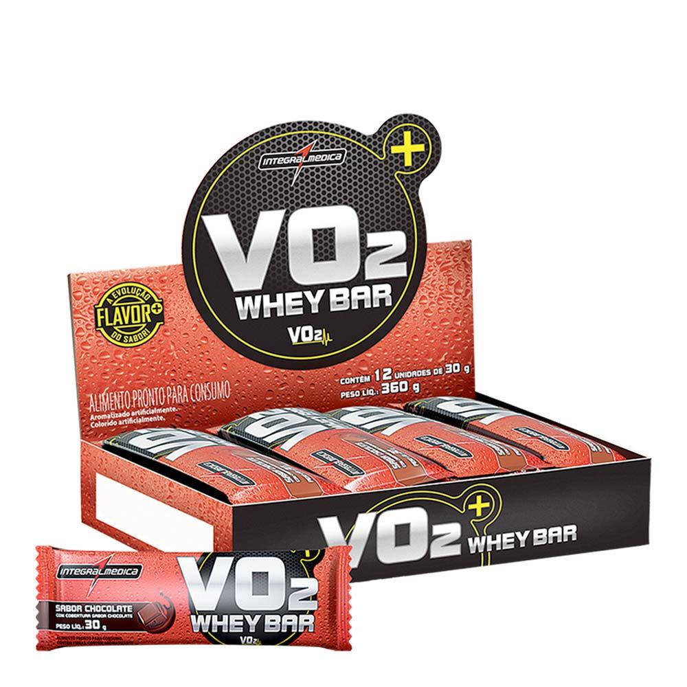 Barra de Proteína VO2 - Caixa com 12 unidades