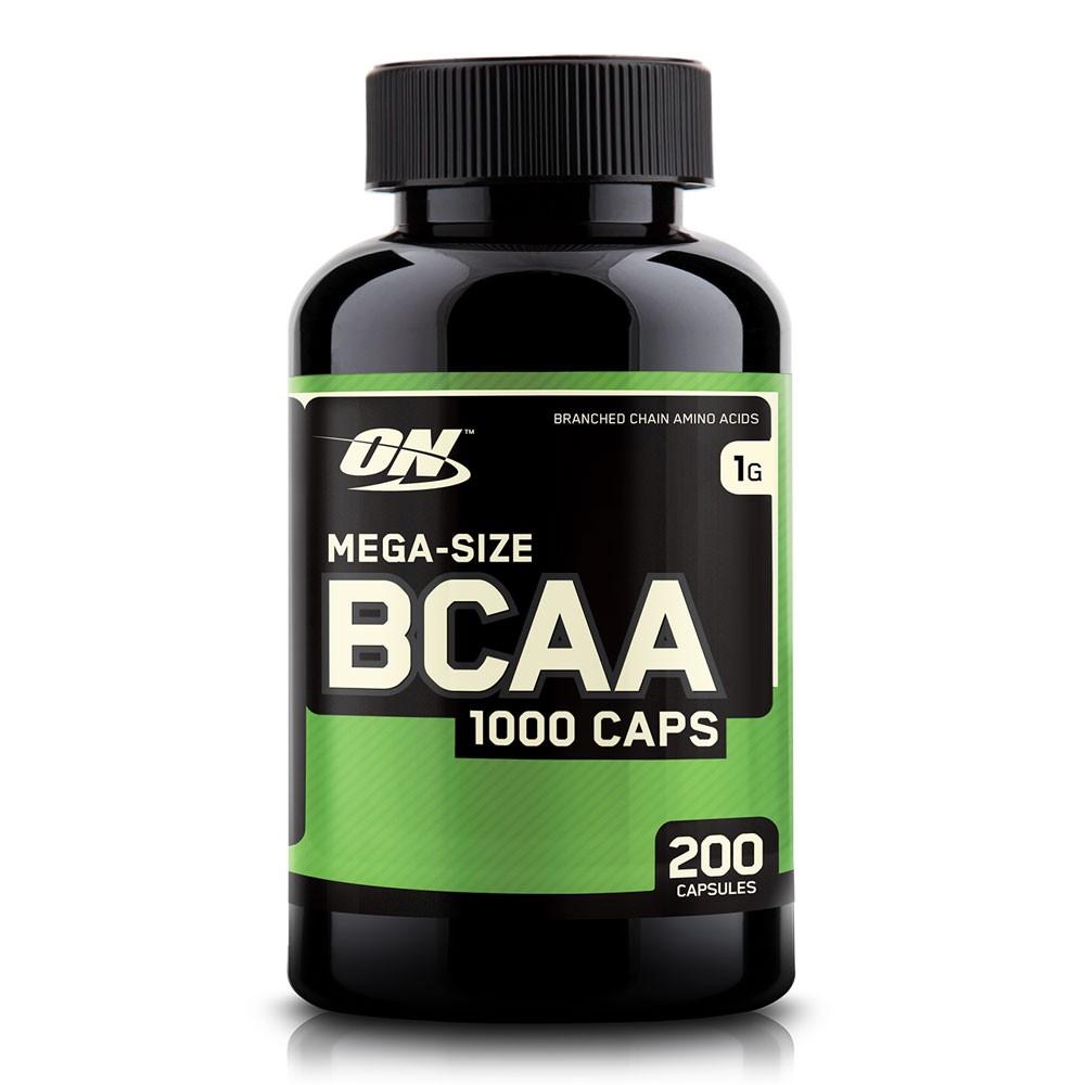 BCAA 1000 – Optimum Nutrition (200 Cápsulas)