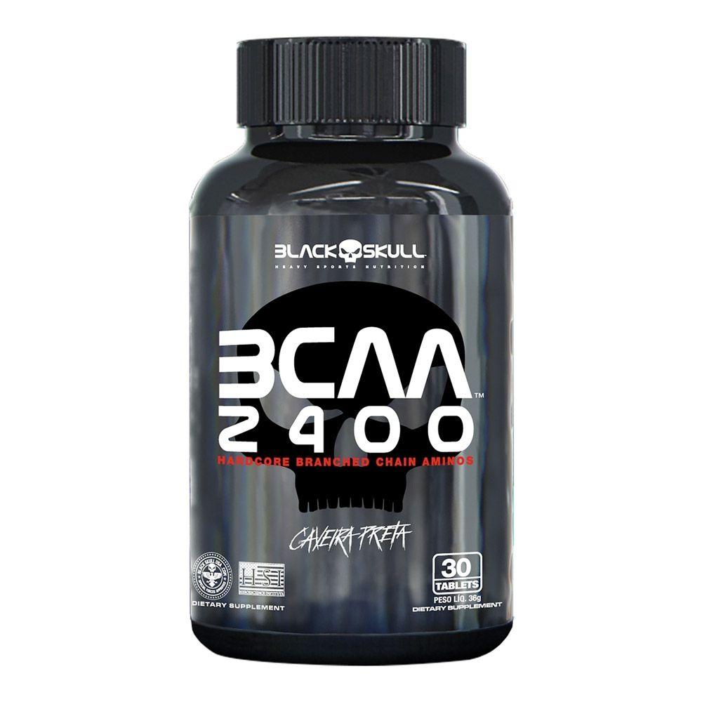 BCAA 2400 Black Skull - Caveira Preta