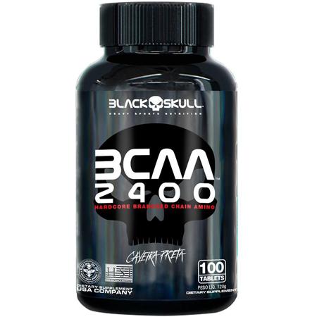 BCAA 2400 Black Skull 100 Cápsulas