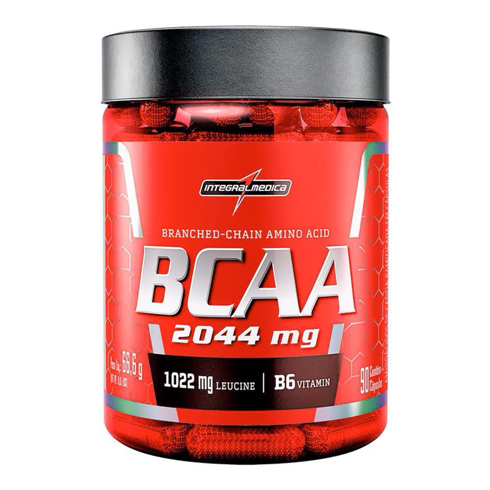 BCAA 2400mg - Integralmédica - 90 Cápsulas