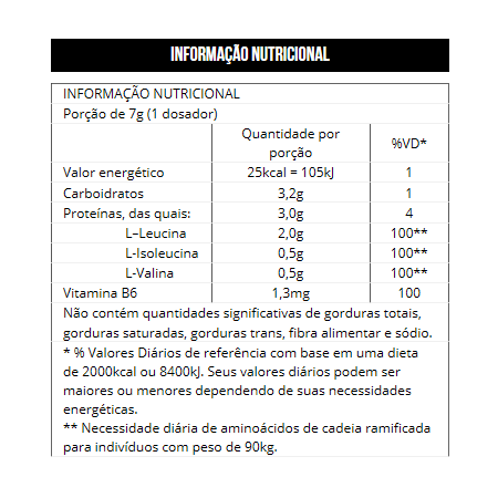 BCAA 4:1:1 Powder Drink 280g
