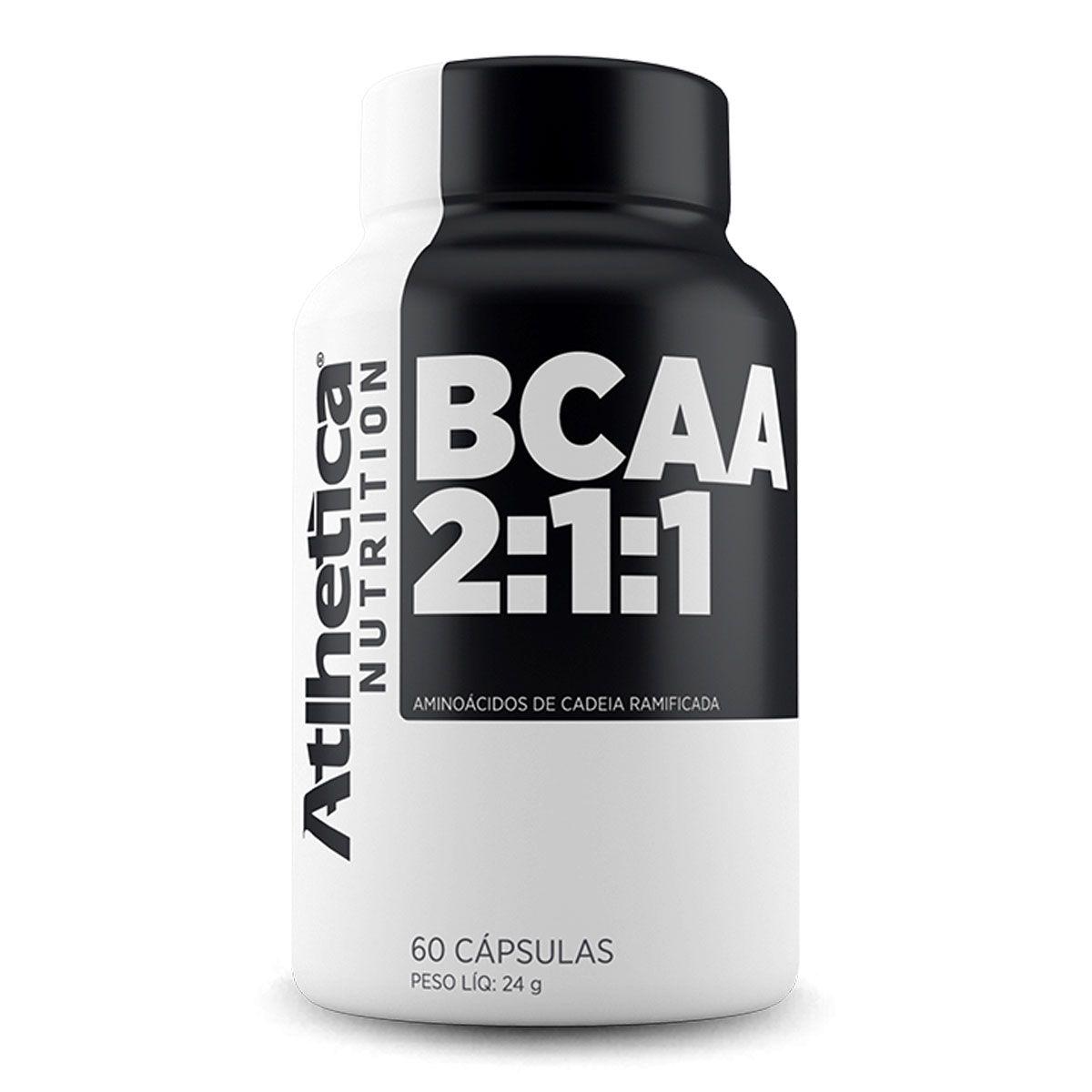 BCAA Atlhetica Nutrition em Cápsulas