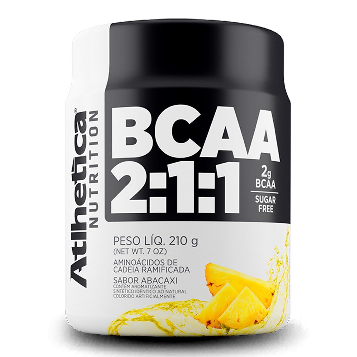 BCAA Atlhetica Pro Series em pó 210g