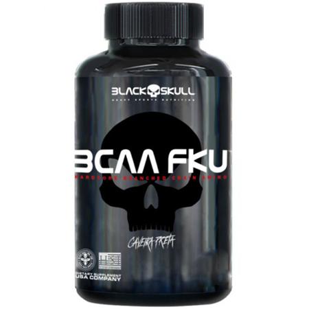 BCAA FKU - Caveira Preta (240 Cápsulas)