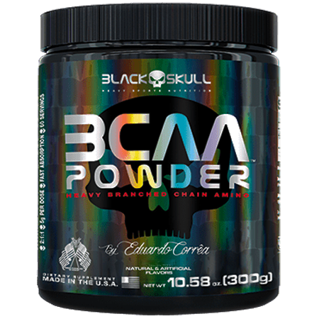 BCAA Powder Black Skull Importado 300 g