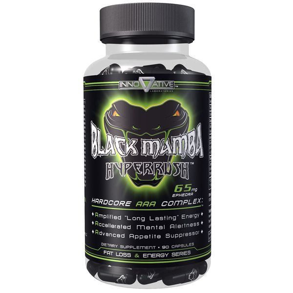 Black Mamba Hyperrush 90 Capsulas Original -  Innovative Labs