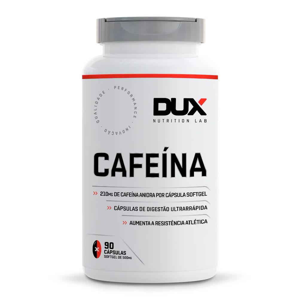 Cafeína 210mg (90 Cápsulas) - Dux Nutrition