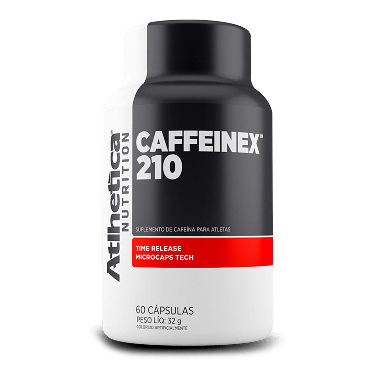 Caffeinex - Cafeina 210mg - 60 Capsulas