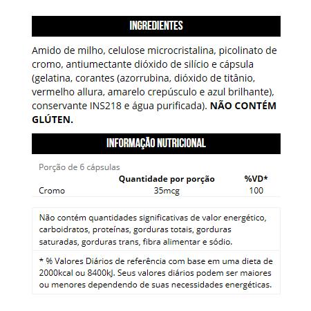 Chromium Picolinate (120 Cápsulas)