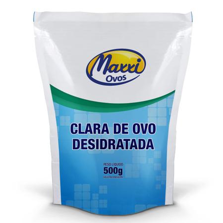 Clara de Ovo Desidratada Sem Sabor (500g)