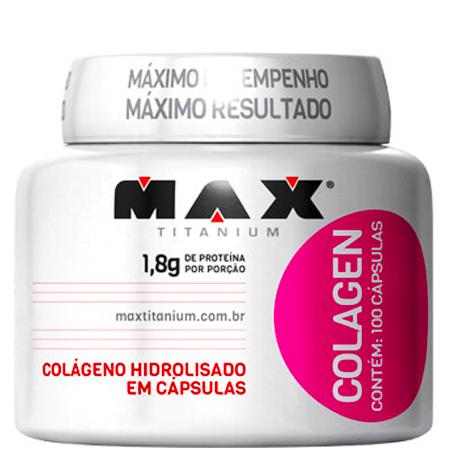 Colágeno Hidrolisado 100 Cápsulas