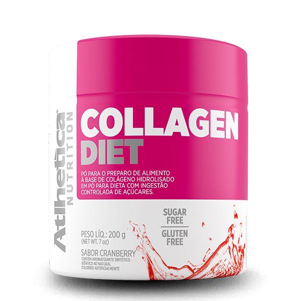 Colágeno Hidrolisado Colllagen Diet Atlhetica Nutrition  200g