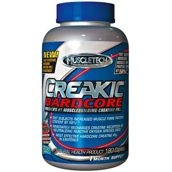 Creatina Creakic Hardcore Muscletech 180 Cápsulas