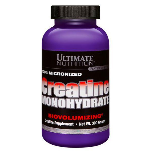 Creatina Micronizada Monohidratada 300g - Ultimate Nutrition