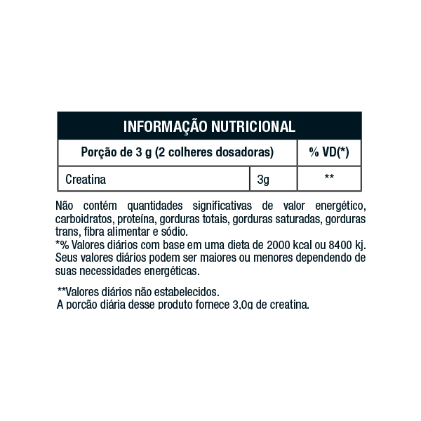 CREATINA MONOHIDRATADA (300g)