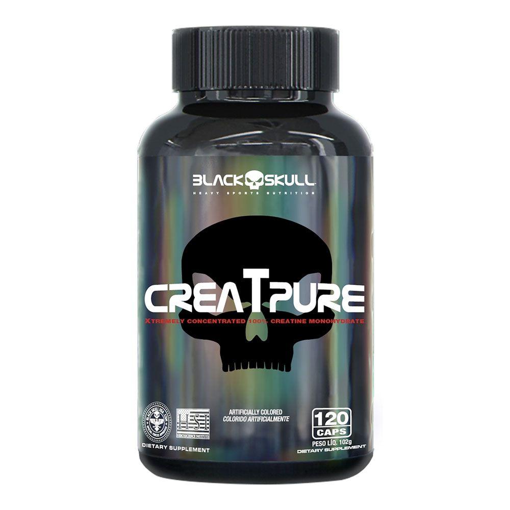 Creatpure Black Skull - 120 Tabletes