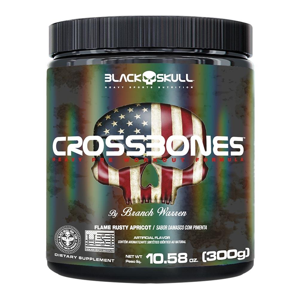 CrossBones Pre Treino Black Skull