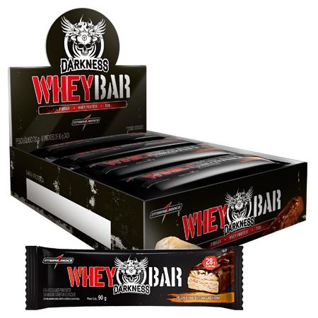 Dark Whey Bar Darkness - Barra de Proteína - Caixa c/ 8 unidades de 90g