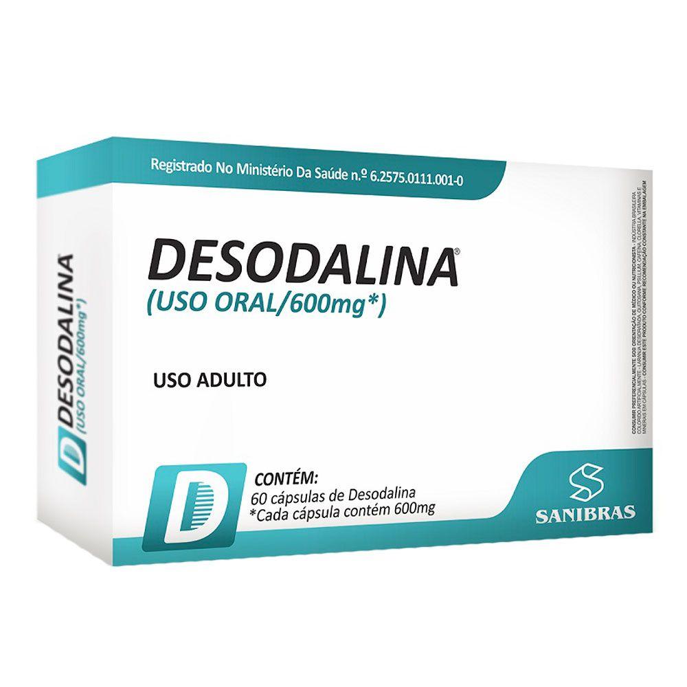 Desodalina - 60 Cápsulas