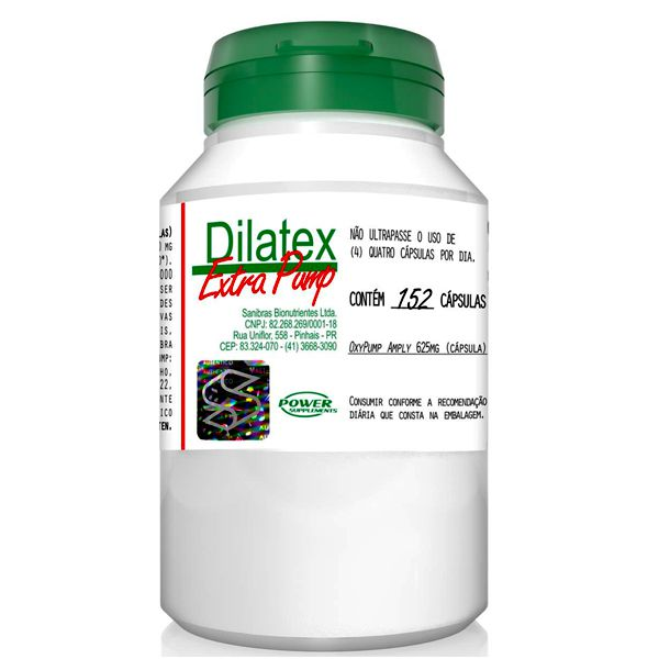 Dilatex Vaso Dilatador 152 Cápsulas