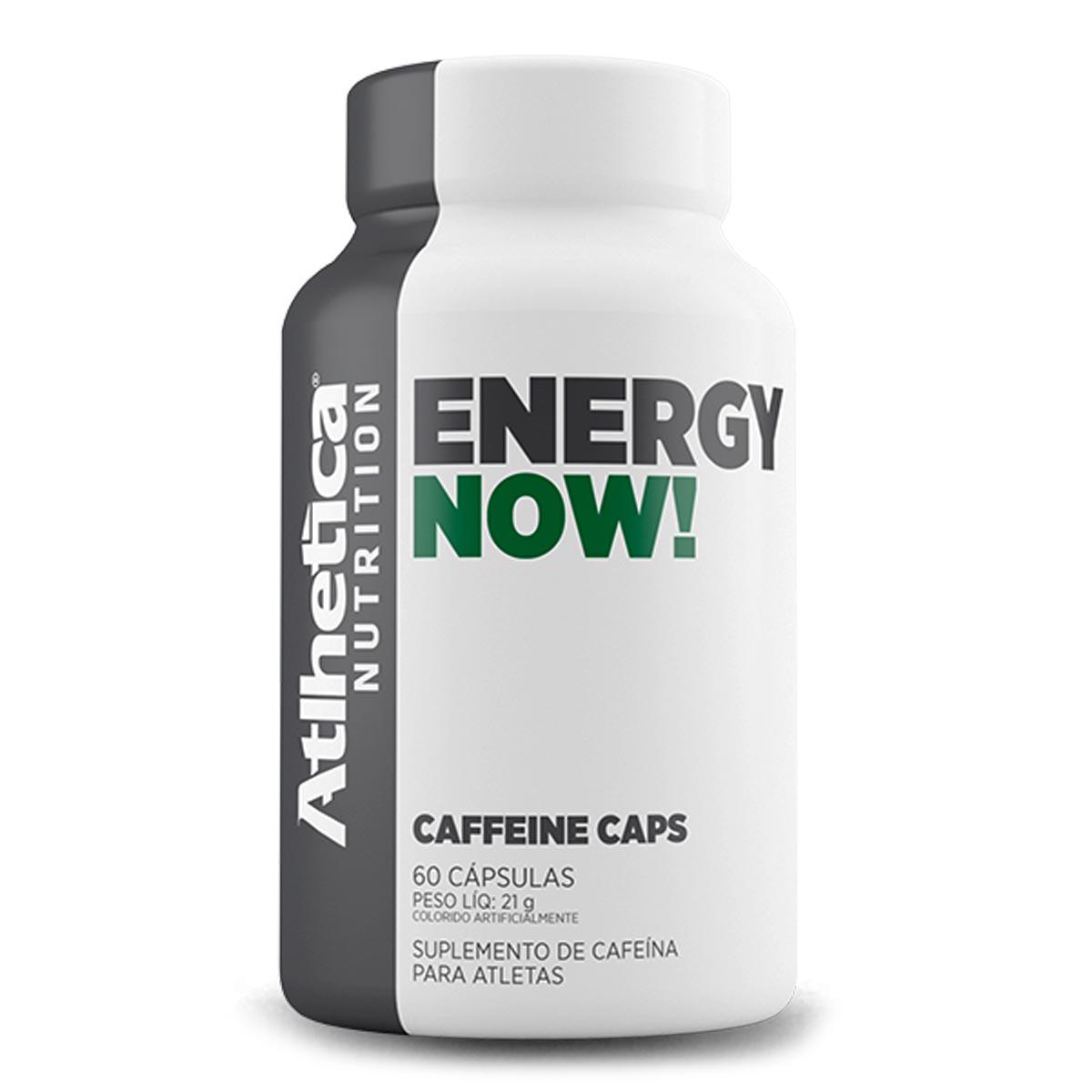 Energy Now! - Cafeina 210mg - 60 Capsulas