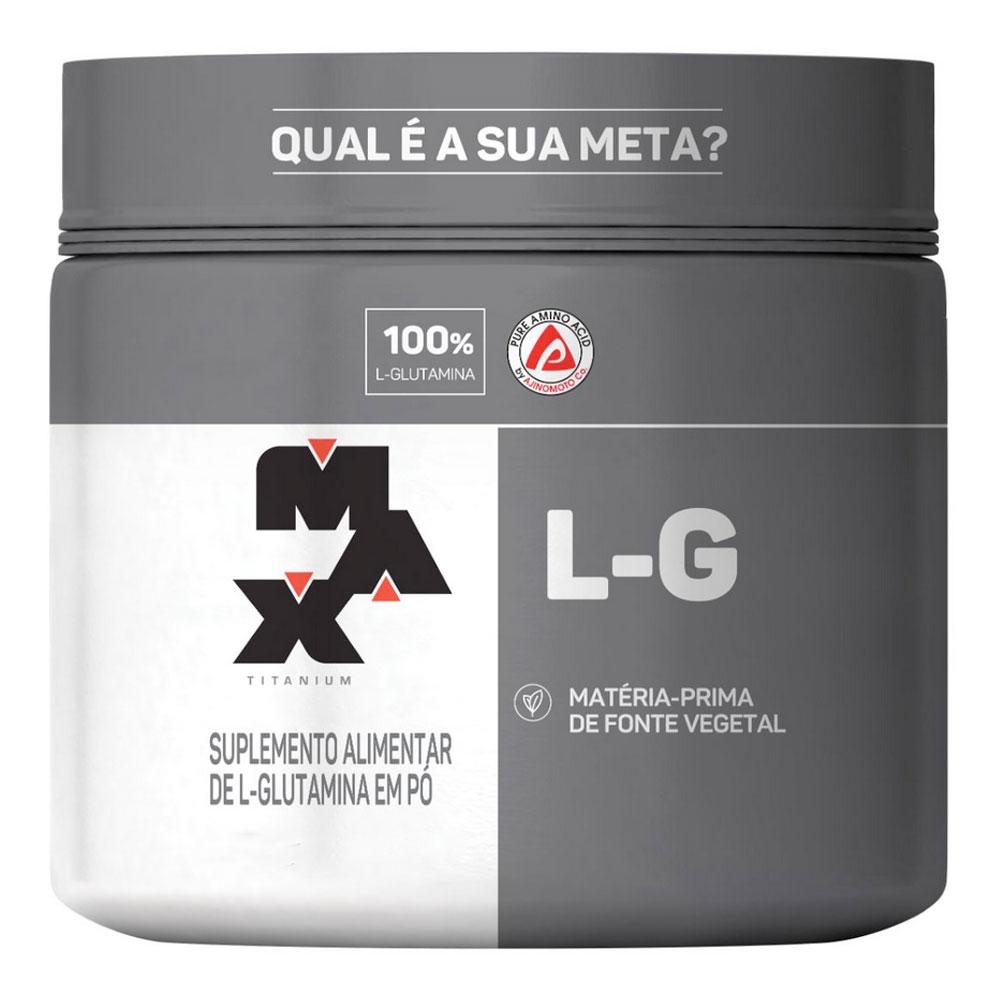 Glutamina Max Titanium