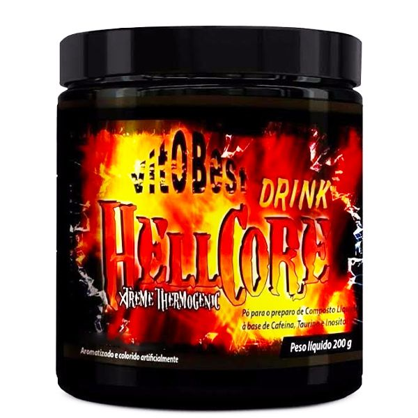 Termogenico Hell Core Drink Extreme Vitobest 200g