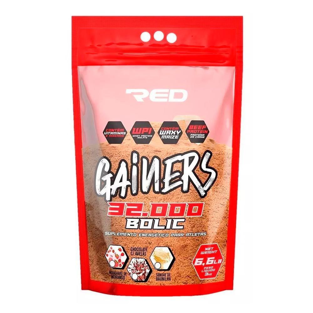 Hipercalorico Red Series - Gainers Bolic 32000 - 3kg