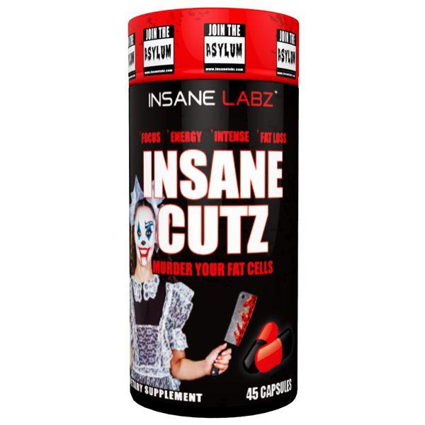 Insane Cutz 45 Capsulas - INSANE LABZ