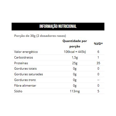 Iso Whey - Proteína 100% Isolada 900g