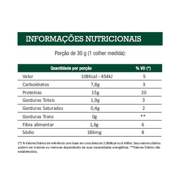 Isocrisp Vegan 450g Sabor Neutro