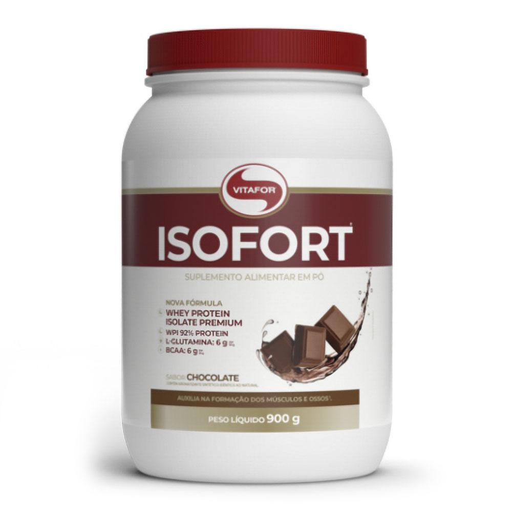Isofort (900g) - Vitafor   Whey 100% Isolado