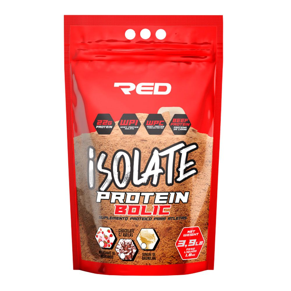Isolate Protein Bolic - Red Series - 1.8kg