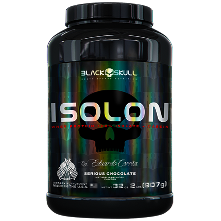 ISOLON Black Skull 907g