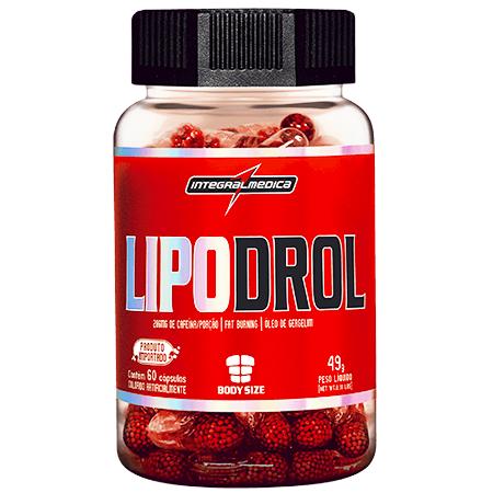 L-drol - Lipodrol Integralmédica 60 Cápsulas