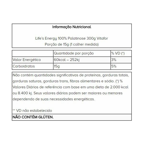 Life´s Energy Palatinose 300g