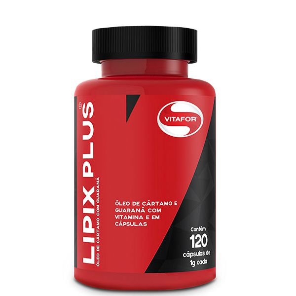 Emagrecedor Lipix Plus Vitafor 120 Cápsulas