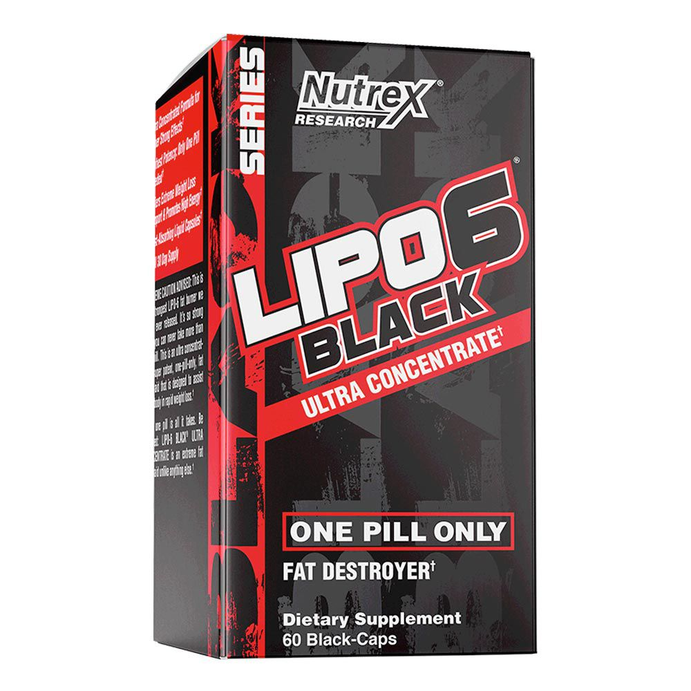 Lipo 6 Black - Importado (60 Cápsulas)