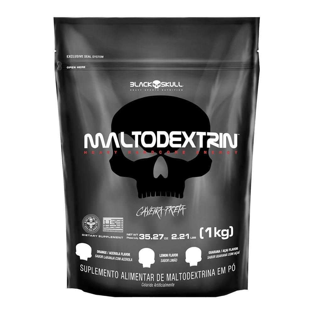 Maltodextrina - Black Skull Refil 1Kg