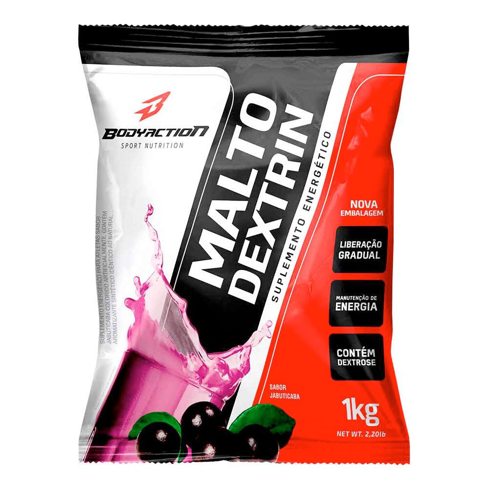 Maltodextrina BodyAction (1Kg)
