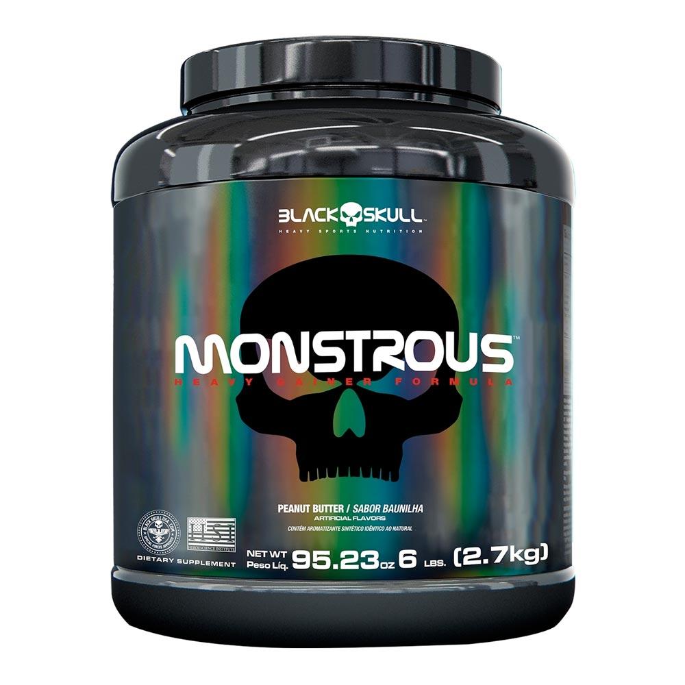 Monstrous Black Skull 2,7kg