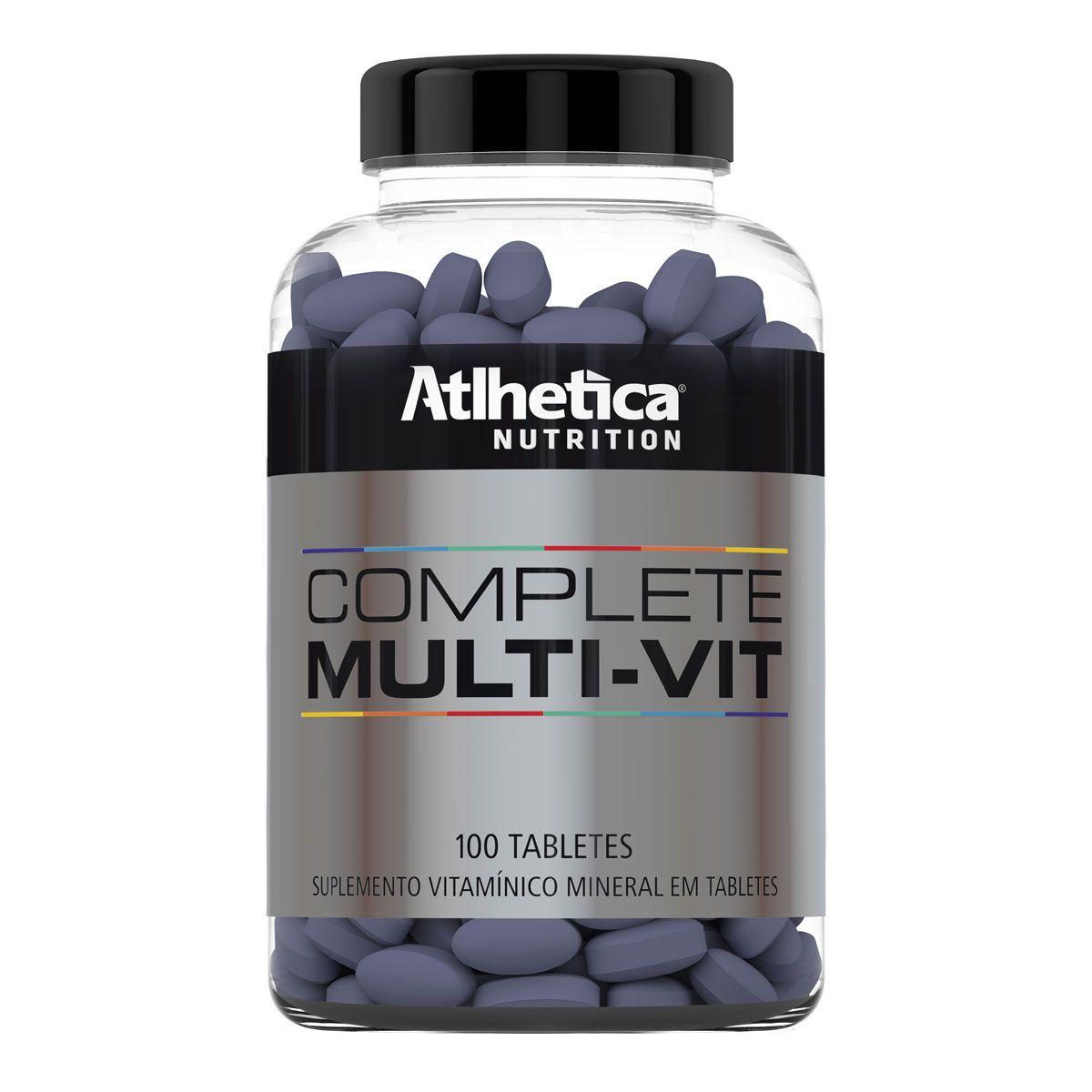 Multivitaminico Atlhetica - Complete Multi-Vit 100 Capsulas