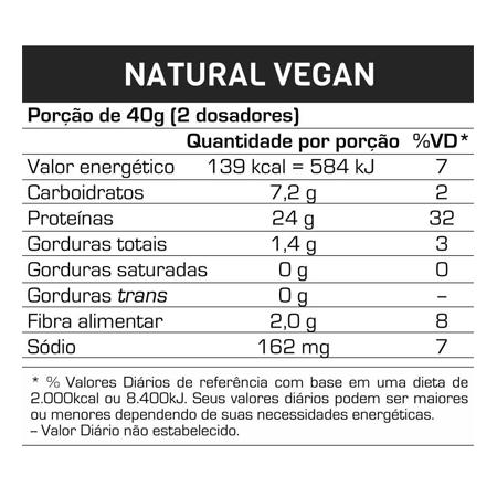 Whey Vegano Natural Vegan 500g