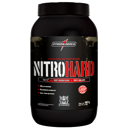 f7adf6d9a Nitrohard Whey Protein Darkness 907g - Integralmedica em Sorocaba ...