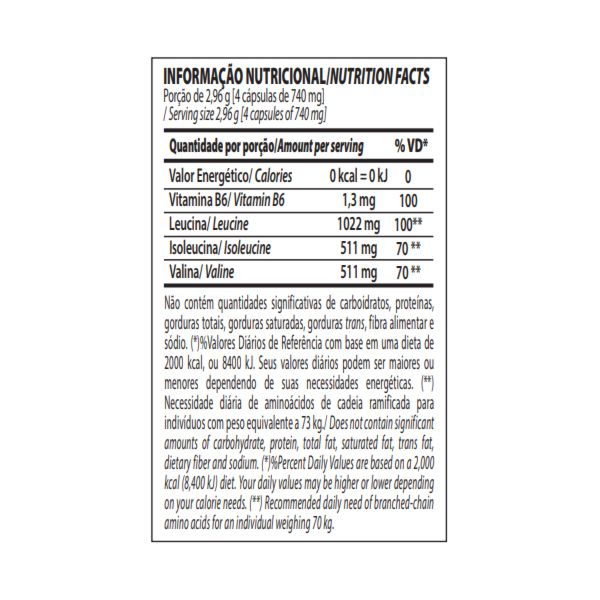 Oferta Pacote com 3x BCAA 2:1:1 Integralmédica 90 Cápsulas