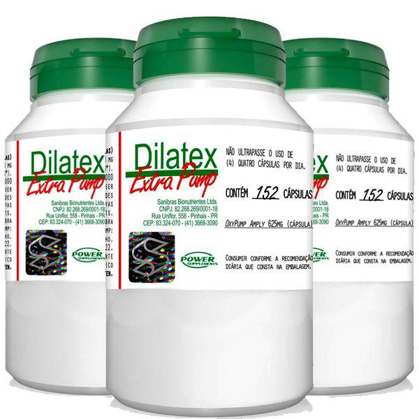 Oferta Combo 3X Dilatex Vaso Dilatador 152 Cáps