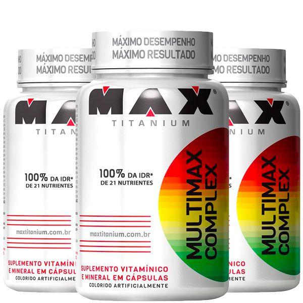 Oferta Pacote com 3X Multivitamínico Multimax  90 Cápsulas